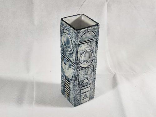 22cm Rectangular Vase Open Top