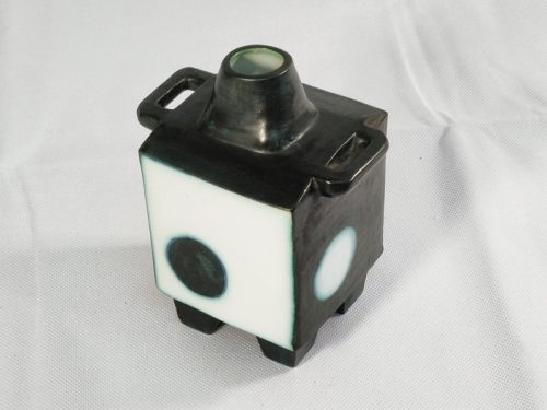 4 Footed Handled Lidded Cube