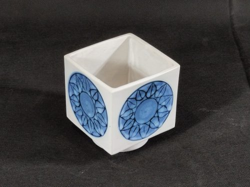 Round Footed Smooth Cube