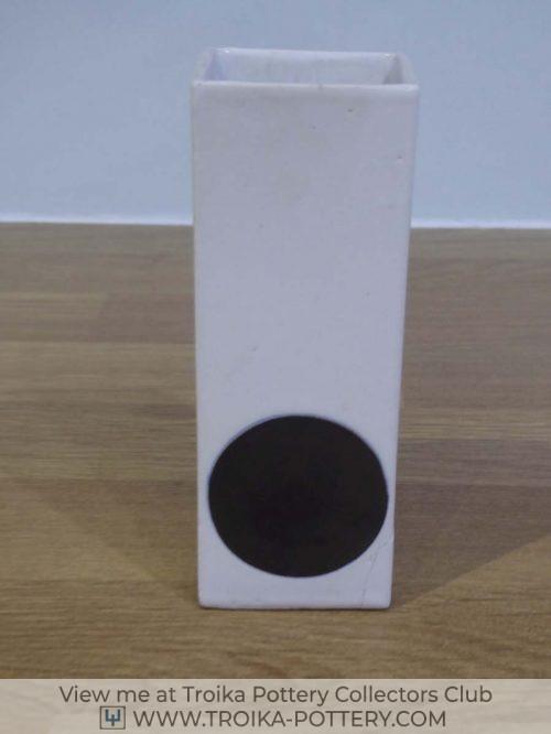 Small Smooth Rectangular Vase