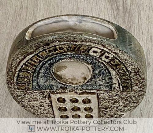 12cm Wheel Vase
